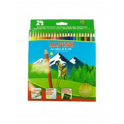 Lápices 24 Colores, Alpino