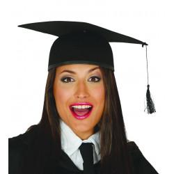 Sombrero graduación de estudiante