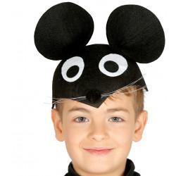 Casquete infantil de ratoncito Mickey Mouse