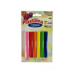 Pack Plastilina, 6 colores