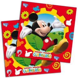 Servilletas Clubhouse Mickey Mouse