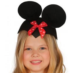 Casquete infantil de ratoncita Minnie Mouse