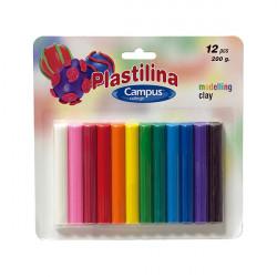 Pack Plastilina, 12 Colores