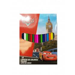 Lápices Cars, 18 Piezas