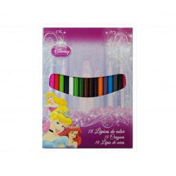 Lápices Princesas Disney, 18 Piezas