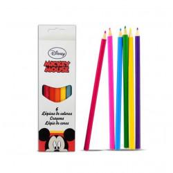 Lápices Minnie Mouse, 6 Piezas
