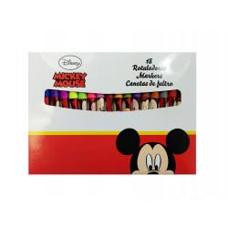 Rotuladores Mickey Mouse, 18 Piezas