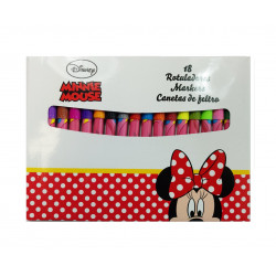 Rotuladores Minnie Mouse, 18 Piezas