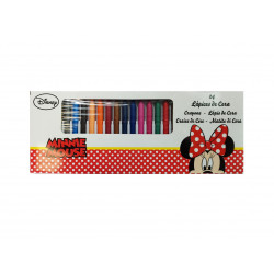 Ceras Minnie Mouse, 24 colores