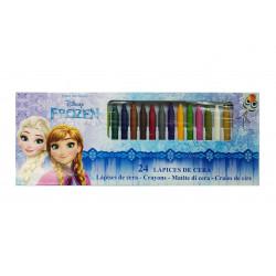 Ceras Frozen, 24 colores