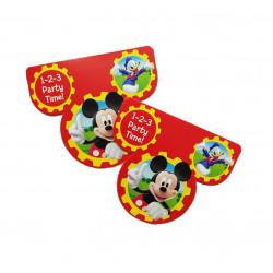 Tarjetas Invitaciones, Mickey Mouse