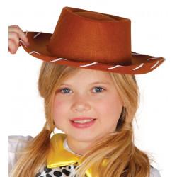 Sombrero vaquero infantil. Sombrero Jessie de Toy Story