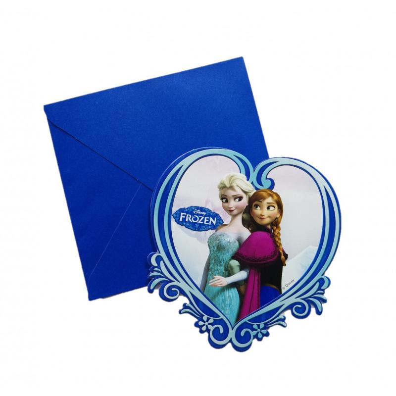 Tarjetas Invitaciones Frozen