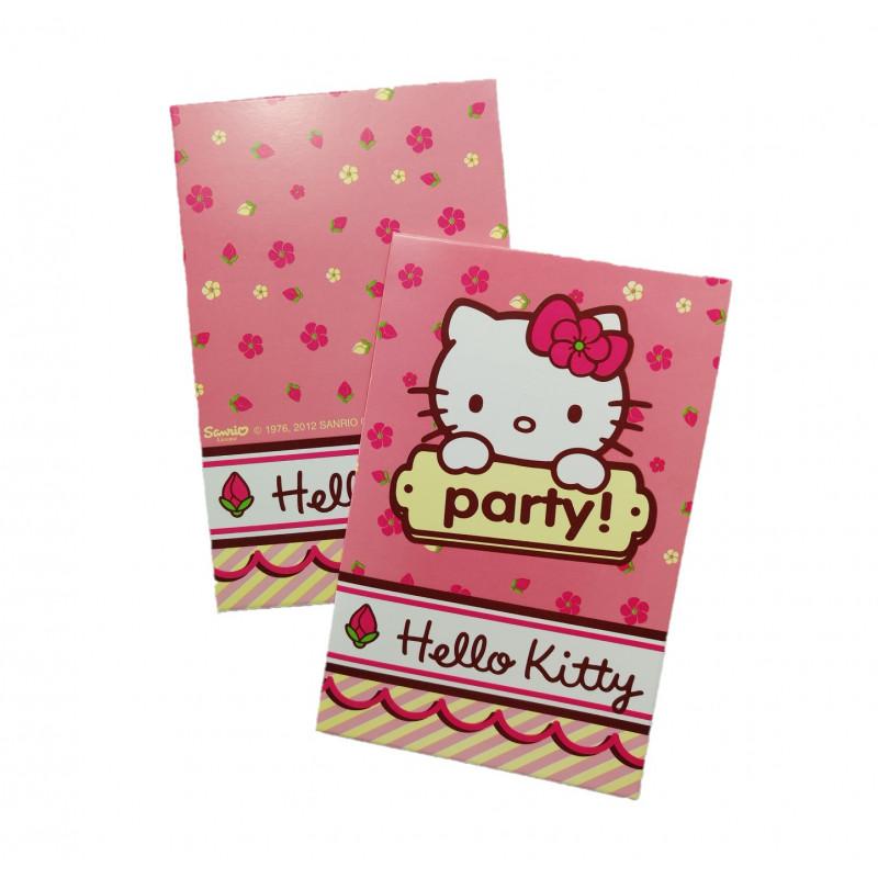 Tarjetas Invitaciones Hello Kitty Bazar Chinatown