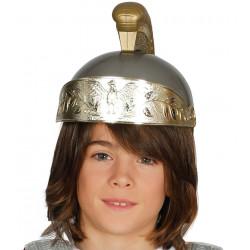 Casco de soldado romano infantil
