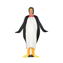 Disfraz de pingüino ártico para adulto