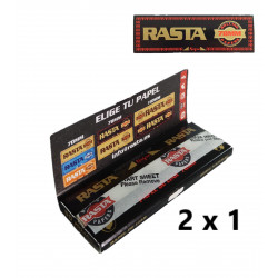 Papel 78mm King Size, Rasta