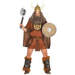 Disfraz de vikingo guerrero para adulto