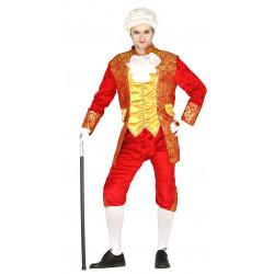 Disfraz de conde  aristócrata para adulto
