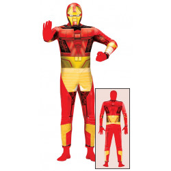 Disfraz de héroe biónico adulto. Disfraz de Iron Man para adulto