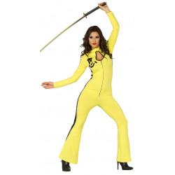 Disfraz de Kung Fu Adulta. Disfraz de Kill Bill / Bruce Li