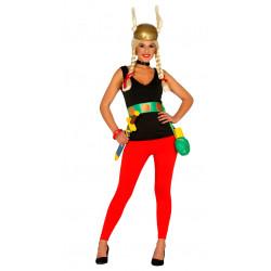Disfraz de mujer gala adulta. Disfraz de Asterix para mujer