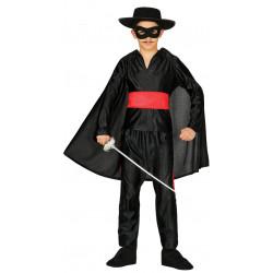 Disfraz de Bandido Infantil. Disfraz de El Zorro para Niño