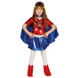 Disfraz de Superheroína Infantil - Disfraz de Wonder Woman para Niña