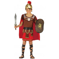 Disfraz de centurión Infantil. Traje de soldado romano para niño