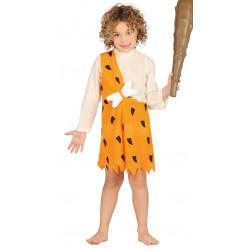 Disfraz de Cavernícola Infantil. Disfraz de Los Picapiedras para niño
