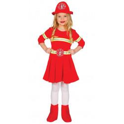 Disfraz de Bombera Infantil - Disfraz al Rescate para Niña