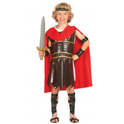 Disfraz de Guerrero Romano Infantil. Disfraz de Centurión para niño