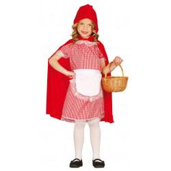 Disfraz de Caperucita Roja Infantil - Caperucita y el lobo para niña