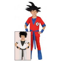 Disfraz de Guerrero Ninja Infantil. Disfraz de Son Goku para niño