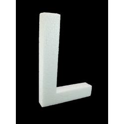 Letra L Poliespán, 30 cm
