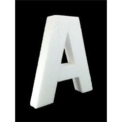 Letra A Poliespán, 30 cm