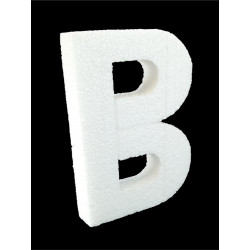 Letra B Poliespán 30 cm