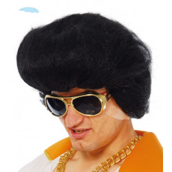 Peluca Rey del Rock Corta - Peluca Elvis Presley