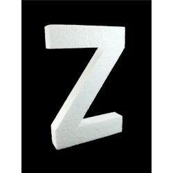 Letra Z Poliespán, 30 cm