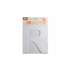 """Letra """"R"""" de Cartón"""