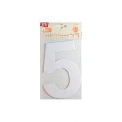 Número 5 de Cartón