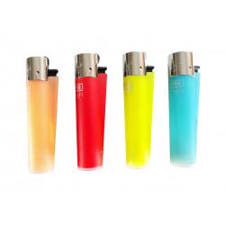 Mechero Clipper Soft Trasparente, Varios Colores