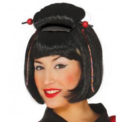 Peluca de japonesa - Peluca de Geisha