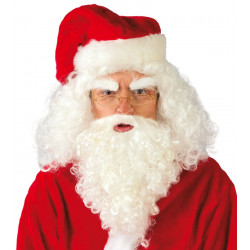 Peluca y barba de Santa Claus / Papá Noel