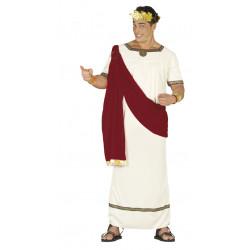 Disfraz de romano Augusto para adulto