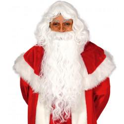 Peluca y barba de Papá Noel / Santa Claus