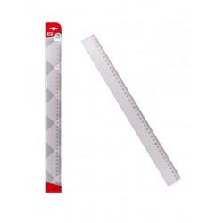 Regla Transparente 40cms Plástico. Regla para el cole
