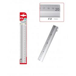 Regla Escolar 20 cms de Aluminio