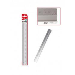 Regla Escolar 30 cms de Aluminio