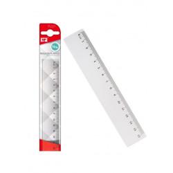 Regla Transparente 15cms plástico. Reglas para el cole